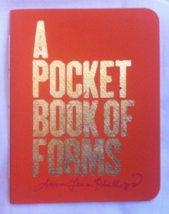 A Pocket Book of Forms, fancy edition